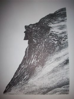 Old Man of the Mountains Print